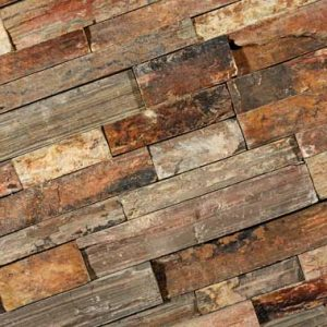 Stone Panels Rusty Slate